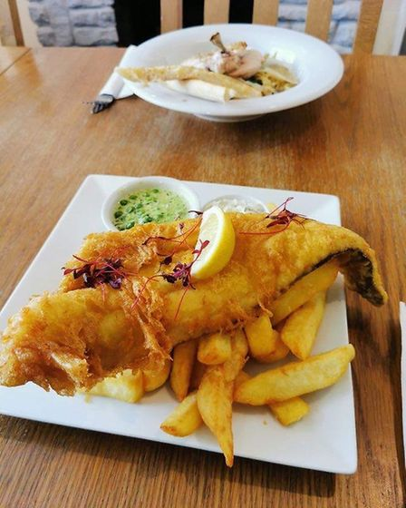 Food is being served at the reopened Belle Vue Inn on Quay Road in Gorleston. Picture: Courtesy of D