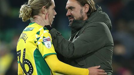 Todd Cantwell is firmly in Daniel Farke's thoughts for the Championship games ahead but missed out a