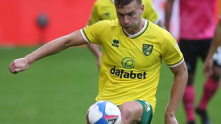 Ben Gibson made his Norwich City debut prior to the international break Picture: Paul Chesterton/Foc