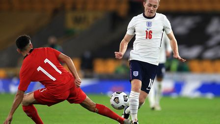 Norwich City's on-loan Tottenham midfielder Oliver Skipp started for the Young Lions against Turkey