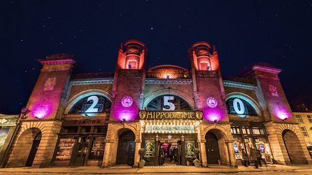 The Hippodrome staff are desperately hoping the grand launch of the summer spectacular will go ahead
