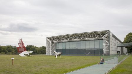 The Sainsbury Centre for Visual Arts. Picture: Kate Wolstenholme