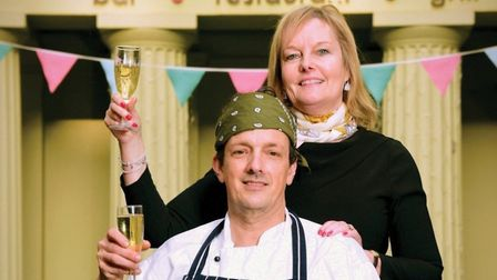 Jayne and Nigel Raffles when they opened the Library as a restaurant in 2006. They closed it last ye