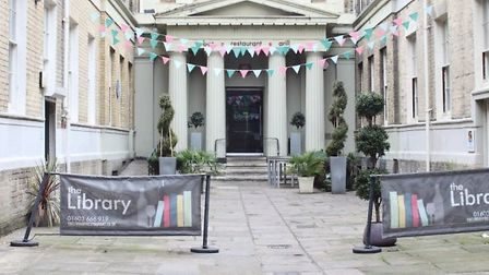 For rent: The Library, for £45,000 a year. Pic: EDP