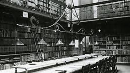 The Library building when it was a public library, closing in 1976. Pic: EDP