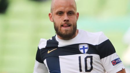 Norwich City striker Teemu Pukki is with Finland for a Nations League game against Ireland Picture: