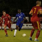 Shirley D Whitlow's photograph of Needham Market FC v Lowestoft Town FC 13th October 2020.Photo sh
