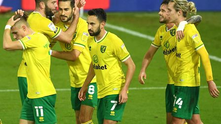 Norwich City's Mario Vrancic sealed a hard-fought win against Birmingham Picture: Joe Giddens/PA Wir