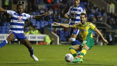 Vrancic scored the winner when City beat Reading 2-1 in 2018. Picture: Paul Chesterton/Focus Images