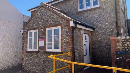 The North Norfolk District Council public toilets in Lushers Passage, Sheringham. Picture: Stuart An
