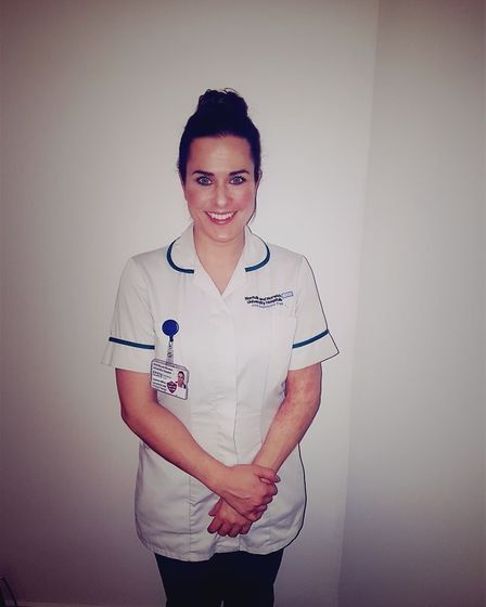 Leanne Miller is now an occupational therapist, have been inspired by the work of those that helped