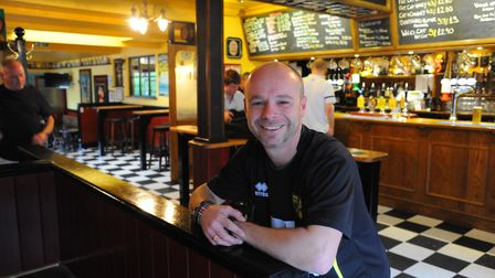 The Fat Cat and Canary on Thorpe Road, Norwich. Manager Christian Hodgkinson.Photo: Steve Adams