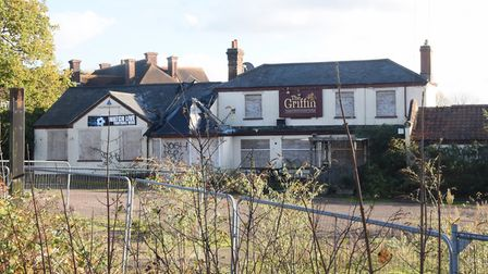 The empty Griffin Pub on the Yarmouth Road at Thorpe St Andrew. Picture: DENISE BRADLEY