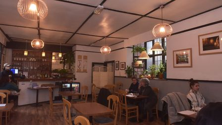 Inside The Kimchi in Brigg Street, Norwich. Pictures: BRITTANY WOODMAN