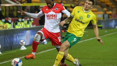 Jordan Hugill is still adapting to life at Norwich City. Picture: Paul Chesterton/Focus Images Ltd