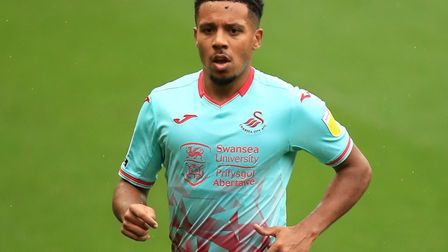Former Norwich City midfielder Korey Smith has bolstered the Swans midfield. Picture: Adam Davy/PA I