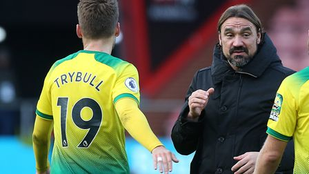 Trybull was informed about his future by City boss Daniel Farke. Picture: Paul Chesterton/Focus Ima