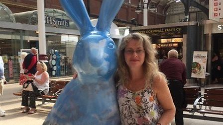 Tracy Hendricks, from Lowestoft in Suffolk, has decided to set up her own travel agent business. PHO