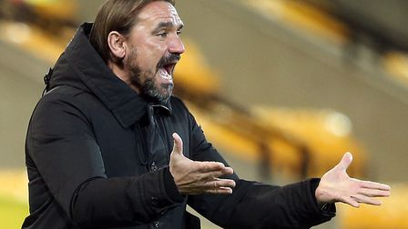 Daniel Farke has been praised for his brave substitution in Norwich City's win over Swansea City. P