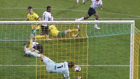 Tim Krul made a crucial save to deny Swansea striker Andre Ayew when the score was still 0-0 during