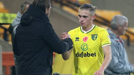 Norwich City Przemek Placheta has been drafted into the senior Poland squad. Picture: Paul Chestert