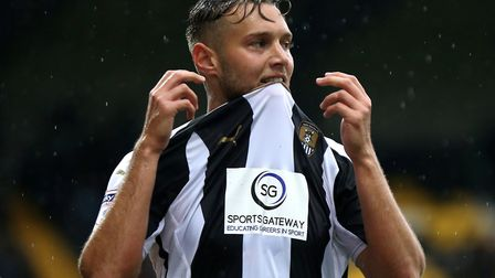 Lincoln midfielder Jorge Grant, pictured here during a loan spell at Notts County, has been linked w