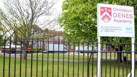 Ormiston Denes Academy in Lowestoft. Picture: Mick Howes