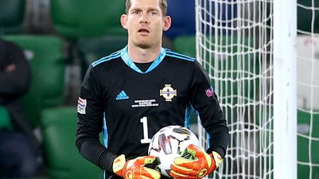 Northern Ireland goalkeeper Michael McGovern will be hoping his country make the Euro's with a play-