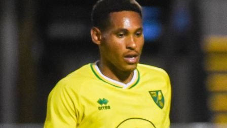 William Hondermarck was among the players to go close to scoring for Norwich City U21s at Cheltenham