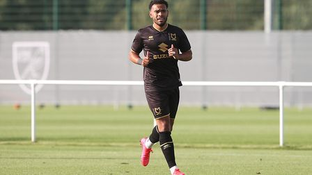Louis Thompson is fighting fit at MK Dons. Picture: Paul Chesterton/Focus Images