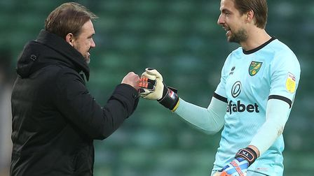 Daniel Farke has recently described City number one Tim Krul as the best keeper in the Championship