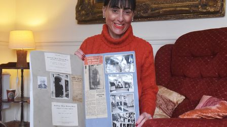 Sue Leeming looks back at family nostalgia from when her grandmother Joyce Mary Vince used to own Au