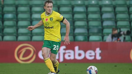 Oliver Skipp has impressed so far with Norwich City on loan from Tottenham. Picture: Paul Chesterton