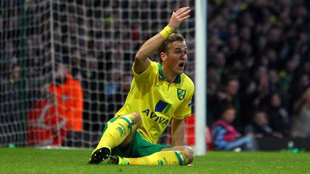 Harry Kane during his unsuccessful loan spell with Norwich City in the 2012/13 season. Picture: Paul