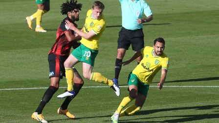 Lukas Rupp and Oliver Skipp are offering more balance to Norwich City's midfield. Picture: Paul Ches