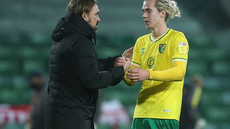 Protecting Todd Cantwell and making bullish decisions has been key to Norwich City's success. Pictur