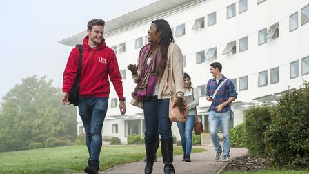 University of East Anglia students are being offered free exercise equipment to promote physical act