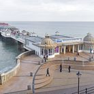 Cromer Pier appears in the film Alpha Papa Pictures: BRITTANY WOODMAN