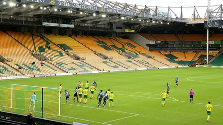 Norwich City fans are missing their football fix - and it affects some more than othersPicture: PA