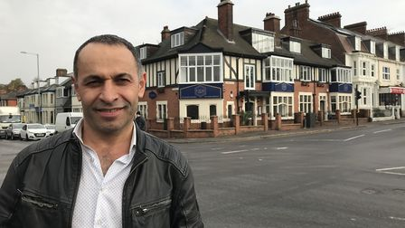 Cemal Alby, owner of the Gem of Norwich restaurant, which has reached the number one spot on Tripadv