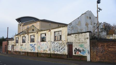 The former railway social club at Ailwyn Hall in Lower Clarence Road, which Norwich City Council is