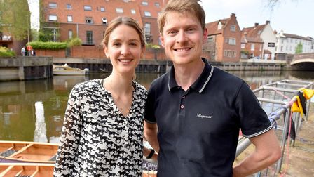Nick Hanington and Chantal Verlinden have re-opened the Elm Hill pontoon for canoe rental business P