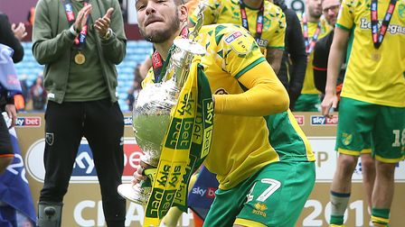 Emi Buendia wants another promotion party with Norwich Cty Picture: Paul Chesterton/Focus Images Ltd