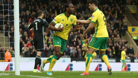 Cameron Jerome regrets leaving Norwich City when he did in January 2018. Picture: Paul Chesterton/Fo