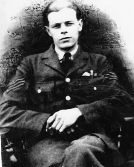 Sergeant Jack Ottaway, who was the pilot on the Handley Page Hampden that crashed at Northrepps on N