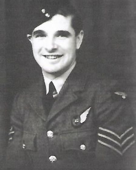 Sergeant Stanley Elliott, who was the wireless operator/air gunner on the Handley Page Hampden that