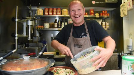 Nick Brewer, owner of Churros and Chorizo Spanish Street Food. Picture: DENISE BRADLEY