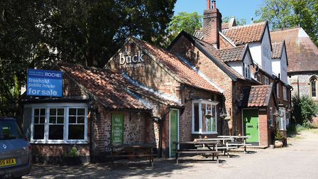 The Buck Inn at Thorpe St Andrew which is closed and up for sale. Picture: DENISE BRADLEY