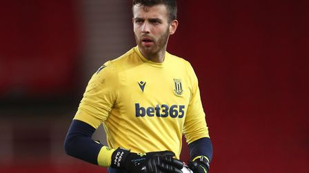 Angus Gunn is spending the season on loan at Stoke City from Southampton Picture: Nick Potts/PA Wire