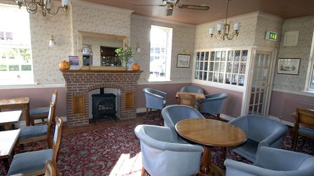 FLASHBACK: Inside the Horse and Groom, Rollesby in 2008 Photo: Andy Darnell